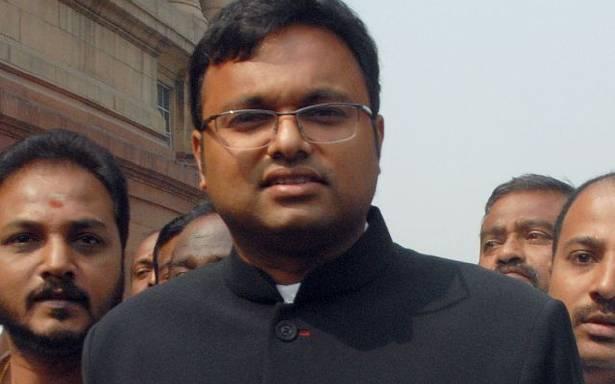 Karti Chidambaram arrested by CBI