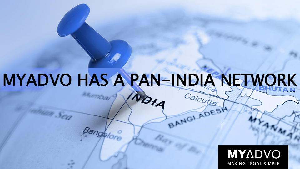 Pan India Presence Of Myadvo Legal Services