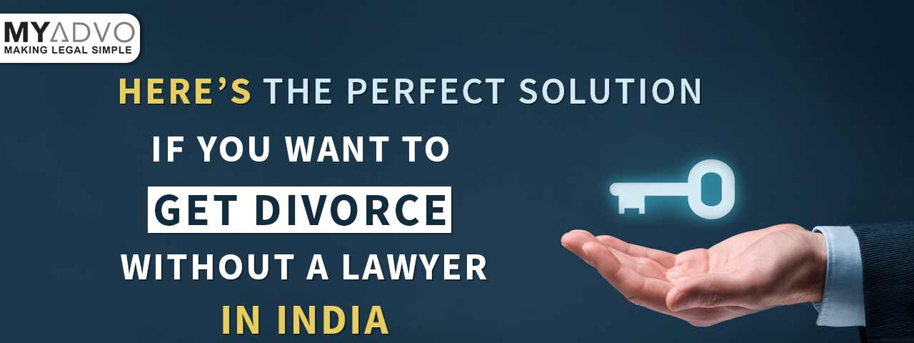 how to file a divorce without a lawyer in India