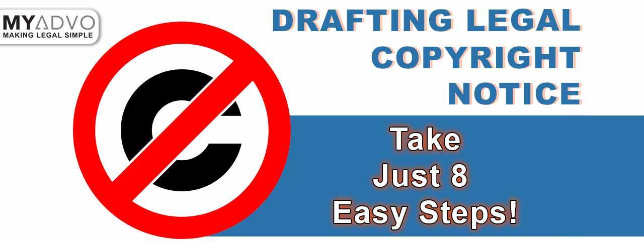 Legal Copyright Notice in India