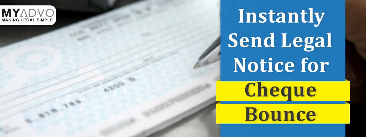 legal notice for cheque bounce