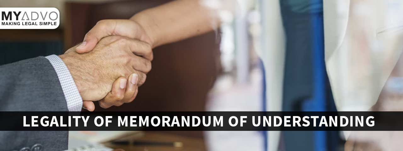 Legal Status of Memorandum of Understanding (MoU) in India