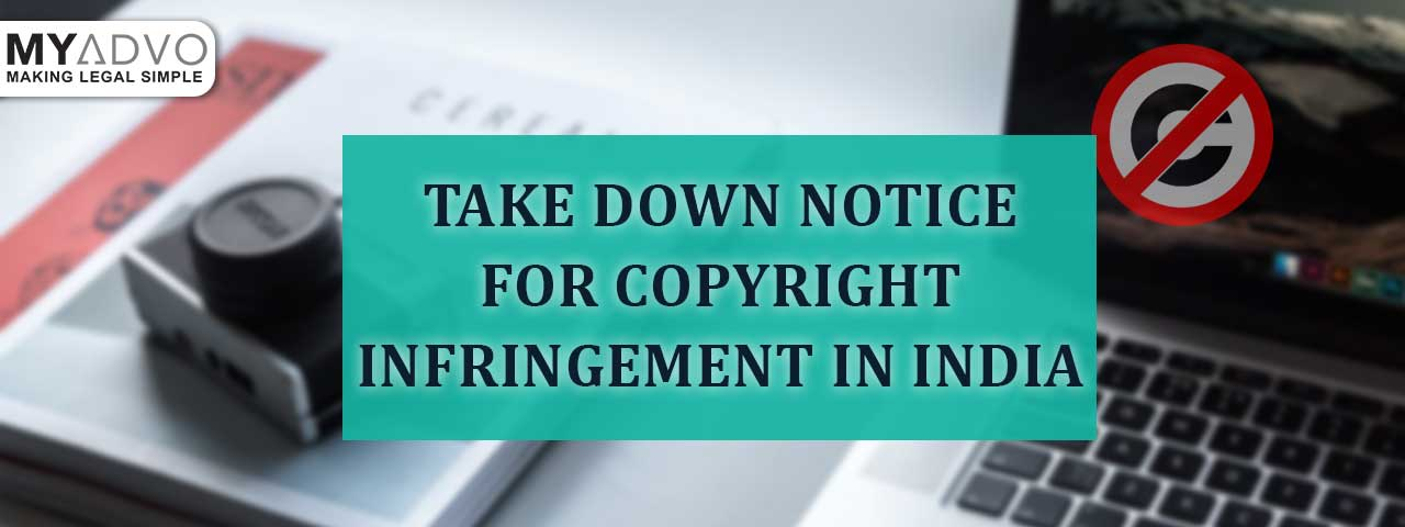 Takedown Notice for Copyright Infringement